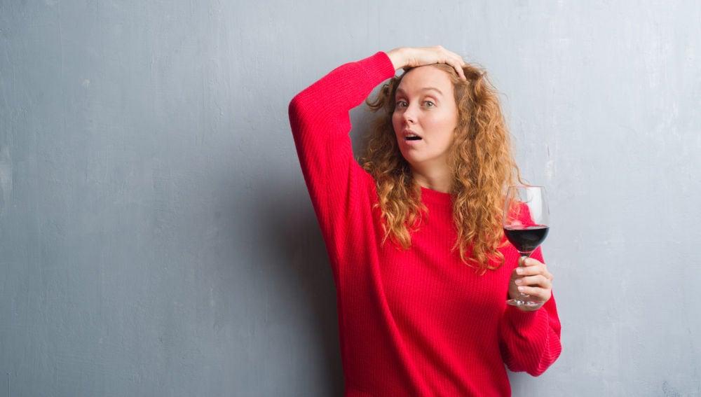 ¿Se te sube el vino a la cabeza?