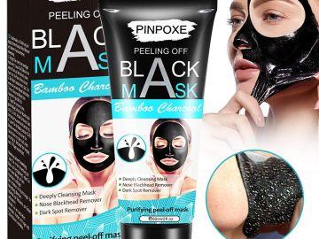 PINPOXE Máscara Exfoliante con Carbón de Bambú