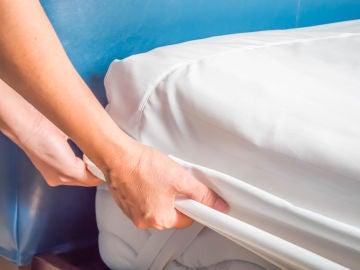 Cambio de sábanas del colchón