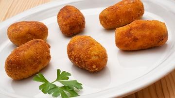 Cocina abierta de Karlos Arguiñano: Croquetas de calabacín y carne picada (Programa 1862)