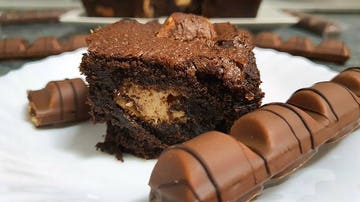 Brownie de Kinder Bueno